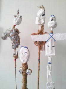 totems afrique oiseau coeur coquin